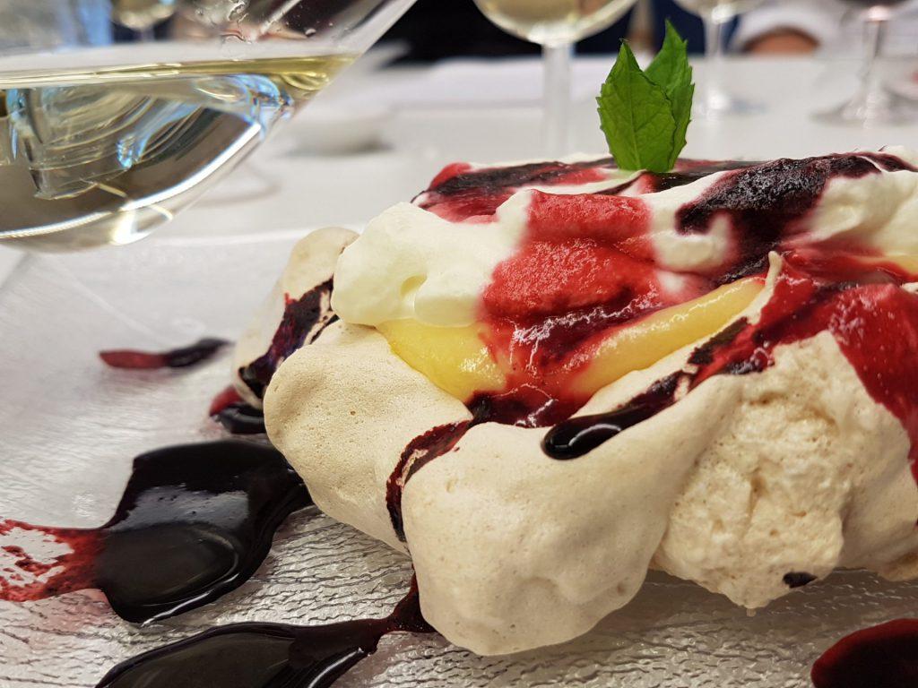 Mat och vin glass