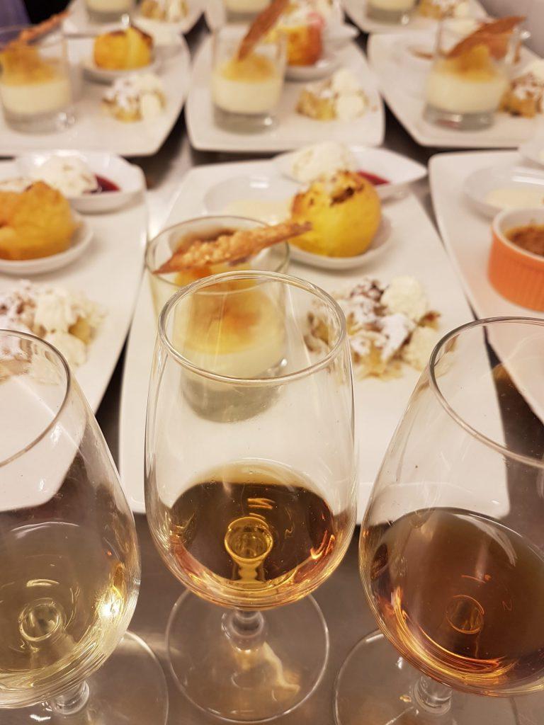 Vin och dessert mix