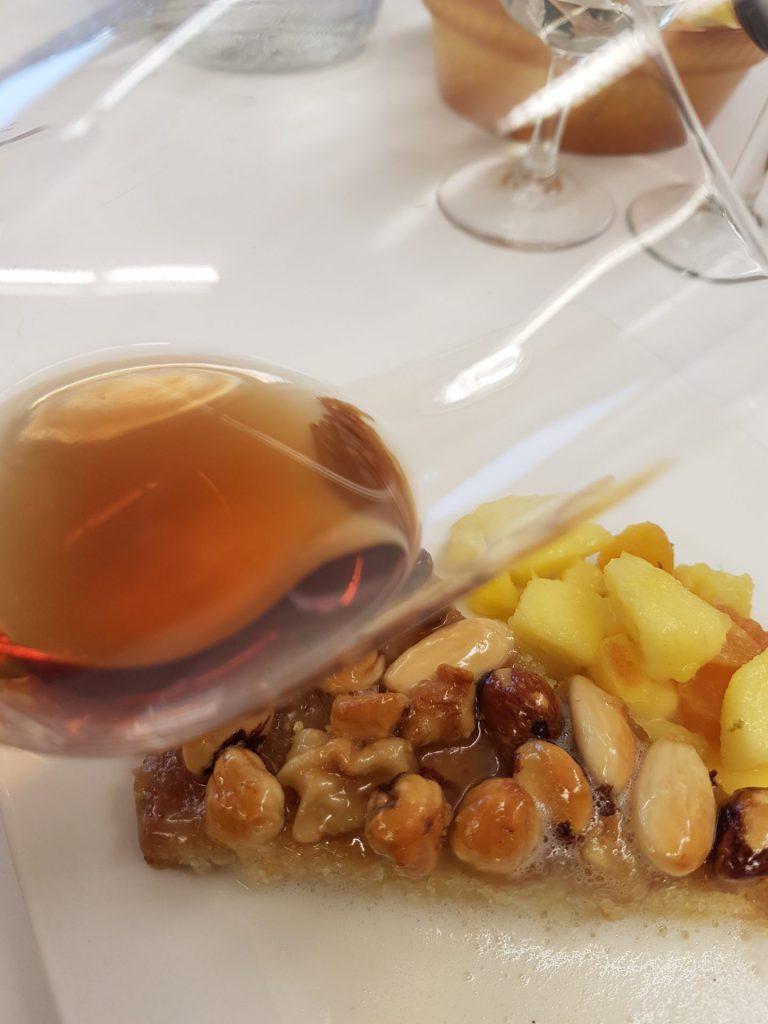 Vin och dessert tosca
